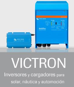 VICTRON - Inversores y cargadores para solar, náutica y automoción