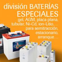 Baterías especiales