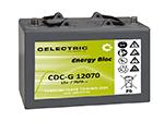 TANKE. Baterías de semitracción de plomo herméticas Gel
