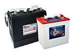 US Battery. Baterías de semitracción de plomo abierto placa positiva empastada plana