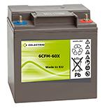 TANKE. Baterías de semitracción de plomo herméticas AGM